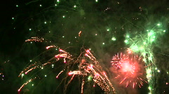 Fireworks HD 28 - stock footage