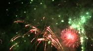 Stock Video Footage of Fireworks HD 28
