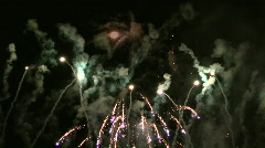 Fireworks HD 25 - stock footage