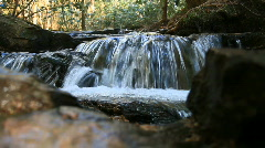 Waterfall in the Blue Ridge Mountains, Georgia - stock footage