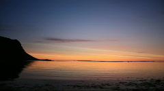 Kirkjufell Sunset Stock Footage