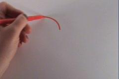 Heart pierced with an arrow Stock Footage