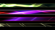 Abstract Flowing Energy Lower Thirds Stock Footage
