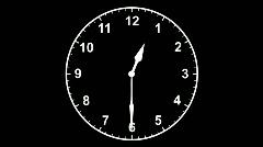 Clock Editors Element Loop Stock Footage