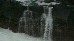Sea Water Dripping off Rocks -  -  Clip 2 Stock Footage