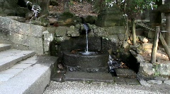 Ablution fountain Stock Footage
