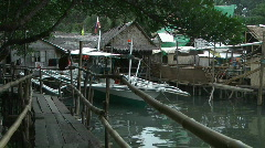 Philippines village Stock Footage