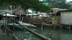 Philippines village Stock Footage