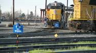 Train, engine, engineer Stock Footage