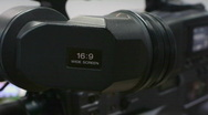 Stock Video Footage of HD1080p Broadcast Video Camera XDCAM