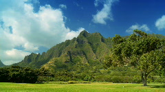 Rugged Beauty of Na Pali Cliffs, Hawaii Stock Footage