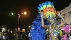 Brazilian Carnival celebration - stock footage