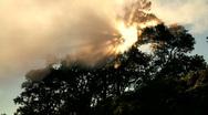 Time-lapse Cloud & Sunlight Stock Footage