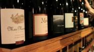 Selecting Fine Wine Stock Footage