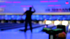 Bowling 2 - stock footage