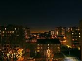 Full Moon Time Lapse - London, UK Stock Footage