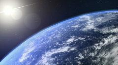 turning earth loop - stock footage