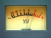 Stock Video Footage of VU Meter - Audio Signal Level