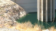 Stock Video Footage of Detail shot of Hoover Dam