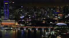 Singapore Cityscape Stock Footage