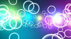 Multicolored Circles - Motion background 14 (HD) Stock Footage