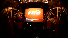 Center of the Senses at Coca Cola Israel Stock Footage