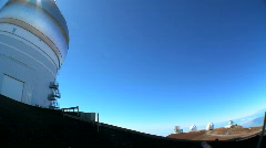 Astronomy Observatories on Big Island Stock Footage