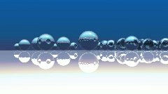133 glass marbles abstract Stock Footage