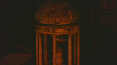 Recoleta Night Slow Zoom Out Stock Footage