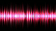 Seamless loop of Random Moving Equalizer Bars - stock footage
