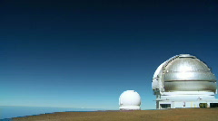 Space Observatory in Elevated Position Stock Footage