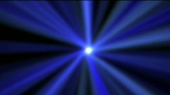 Blue star shining, loopable Stock Footage