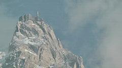 Mont Blanc Massif Stock Footage