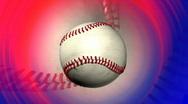 Baseball background, LOOP Stock Footage