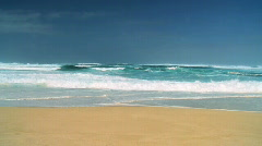 Tropical Wave Power 60FPS Stock Footage
