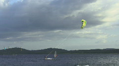 Kitesurfing HD Stock Footage