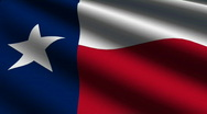 Stock Video Footage of Texas Close up Flag - HD LOOP