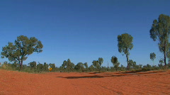 Stock Video Footage of 4WD dirt road