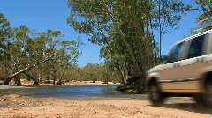 Four wheel drive  Stock Footage