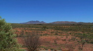 Stock Video Footage of MacDonnell Ranges, Australian outback
