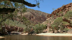 MacDonnell Ranges, Australian outback Stock Footage