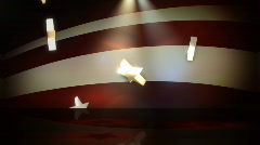 Star Spangled Background 2 - stock footage