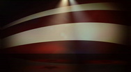 Stock Video Footage of Star Spangled Background1