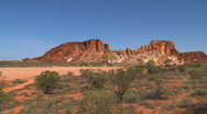 Stock Video Footage of rainbow valley outback