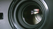 Stock Video Footage of Camera zoom.