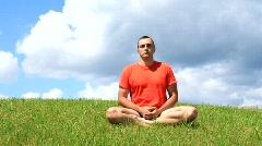 Meditation Stock Footage