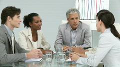 Tärkeä kokous liiketoiminnan joukkue Arkistovideo