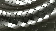 wave steel mesh - stock footage