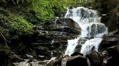 Stock Video Footage of Beautiful waterfall