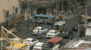 Stock Video Footage of Traffic jam in district Malate in Manila in the Philippines